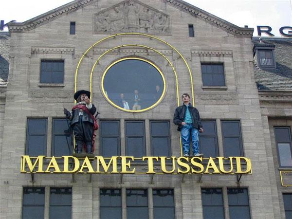 Museo Delle Cere Amsterdam.Foto Amsterdam E Dintorni